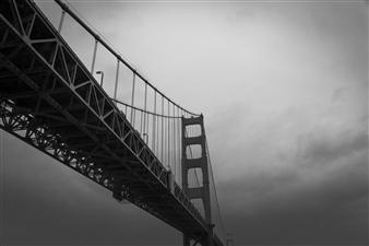 "Golden Gate Bridge 1 Photograph on Fine Art Paper 13"" x 19"""