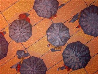 """Overlook #15 Warm Rain Oil on Canvas 48"""" x 36"""""""