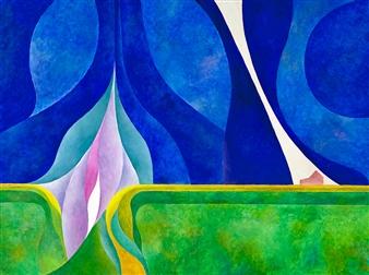 """Prairie Energy Acrylic on Canvas 30"""" x 40"""""""