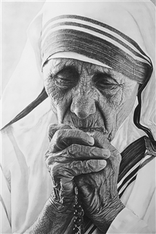 "Mother Teresa ""Pray for us""