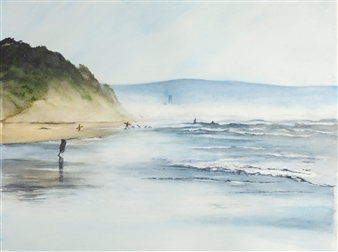 Hazy Day at LaSelva Beach