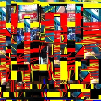 Red Pillars and Yellow Beams