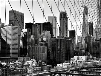 """NYC Brooklyn Silver Gelatin Print 23.5"""" x 35.5"""""""