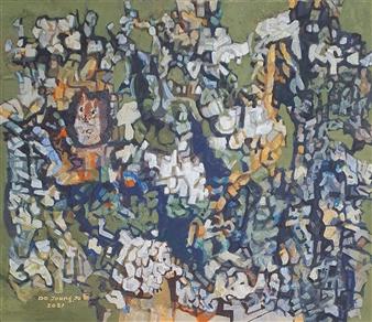 "Knar Chipmunk Soil on Canvas 24"" x 28.5"""