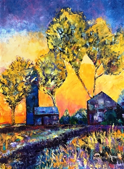"Bethlehem Oil on Canvas 30"" x 40"""