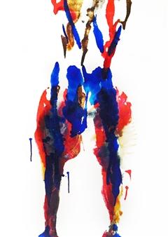 """Metamorphosis Acrylic on Canvas 28"""" x 22"""""""