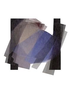 "Crystallization Digital Print on Paper 28"" x 20"""