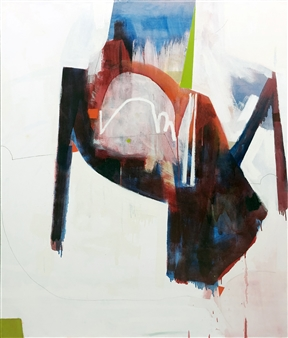 """Dialogue Oil and graphite on Canvas 60"""" x 50"""""""