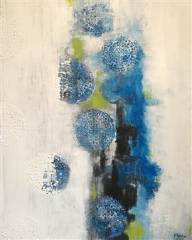 "Optimism Acrylic on Canvas 31.5"" x 23.5"""