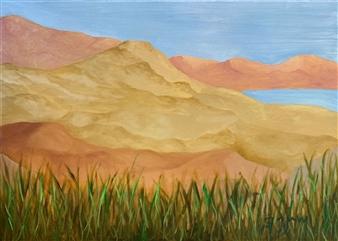 """Overlook Oil on Canvas 19.5"""" x 27.5"""""""