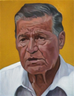 An Old Man at Arena Mexico
