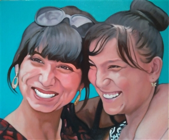 Two Girls at Samarkand