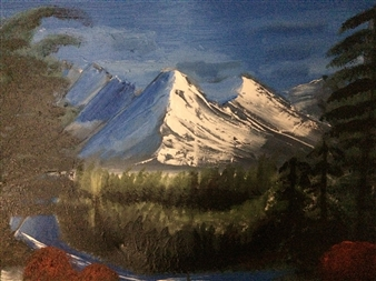 Mountainside Pond
