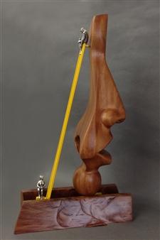 """Sculpture Mixed Media 23.5"""" x 14"""" x 6"""""""