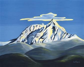 """Mount Garibaldi Acrylic on Canvas 18"""" x 24"""""""