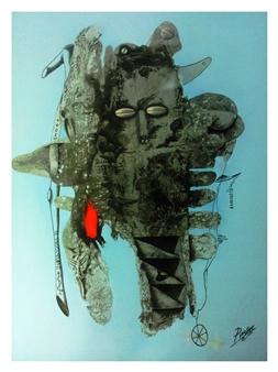 """De la serie MIS RAÍCES Oil on Canvas 37.4"""" x 29.5"""""""