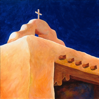 "New Mexico 4 Acrylic on Canvas 24"" x 24"""