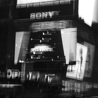 "New York 4 Photograph on Fine Art Paper 24"" x 24"""
