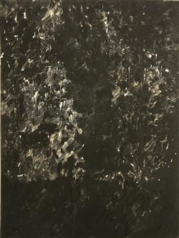 """Tropical Night 1 Oil & Acrylic on Canvas 40.5"""" x 30"""""""