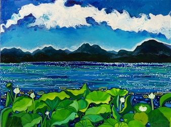 Water Lilies Rooted in The Sea