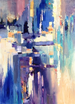 """Attraction Oil on Canvas 40"""" x 30"""""""
