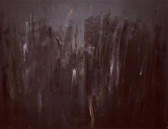 """Dark Haze Acrylic on Canvas 39.5"""" x 51"""""""