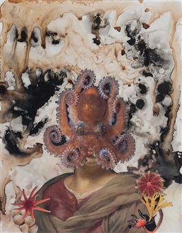 Dream Rooms no. 1 - Woman with Octopus