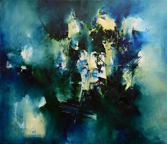 "Fría Ilusión Oil on Canvas 24"" x 28"" <span style='color:red;'>Sold</span>"