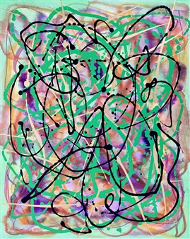 Untitled 9 - Big green Series