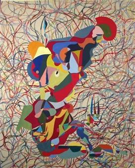 """Bello Pronto Acrylic on Canvas 71"""" x 57"""""""