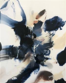 "Incipio Acrylic & Ink on Gessoboard 30"" x 24"""
