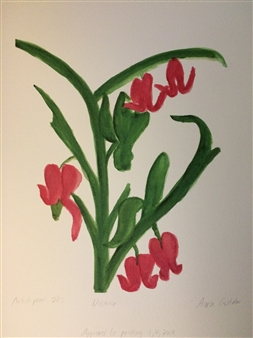 """Dicentra Giclee Print on Paper 15"""" x 19"""""""