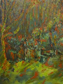 "Rainforest Oil on Canvas 40.5"" x 30"""