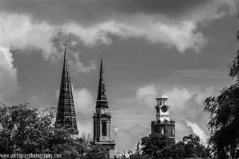 Tower and Churches
