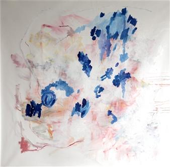 """Aproximación a lo inefable nro 4 Oil on Canvas 59"""" x 59"""""""