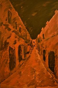 """Rhodes Ipoton Oil on Canvas 27.5"""" x 18"""""""