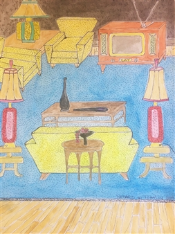 Art Deco with Muntz T.V.