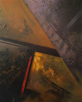 "Chameleon Acrylic on Canvas 30"" x 24"""