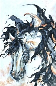 "Windswept Acrylic on Canvas 36"" x 24"""