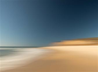 "Hamptons Ditch Plains Beach Photograph on Aluminum 29.5"" x 39.5"""