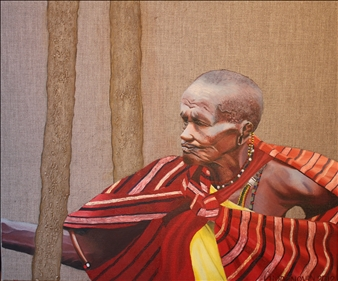 Masai Mara Tribal Woman