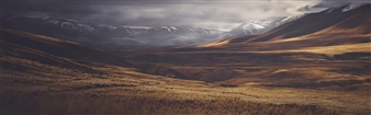 Out on Home Hills Runs Road