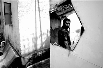 """Man in the rorriM - Shane Gower - China Photograph 0"""" x 0"""""""