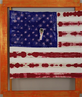 Composition nº 4: Uterus. American Woman  (Virgin 2)