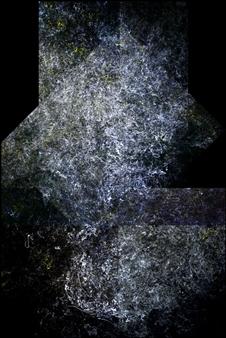 "Pirámide Lunar 1079 Digital Print and Acrylic on Canvas 60"" x 40"""