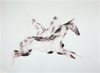 Horse Carrrying Twin Souls