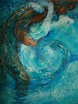 """Passionata Mixed Media on Canvas 20"""" x 16"""""""