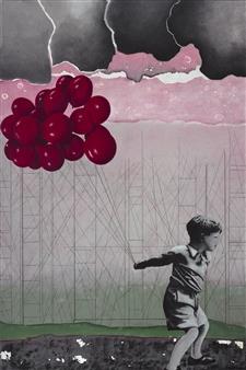 """Lucky Day Acrylic on Canvas 47.5"""" x 31.5"""""""
