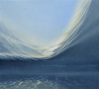"""Oceans Oil on Canvas 26"""" x 28.5"""""""
