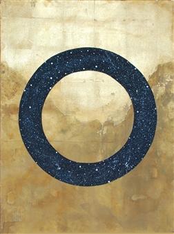 "Eternity Acrylic & Gold on Canvas 40"" x 30"""